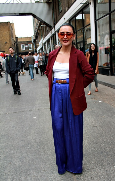 LONDON STREET STYLE BRICK LANE EAST LONDON