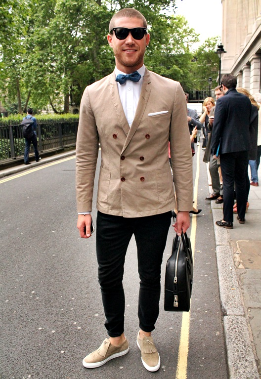 STREET STYLE LONDON COLLECTIONS MEN