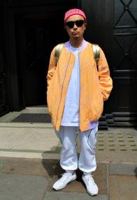 Street Style Men's London Fashion week